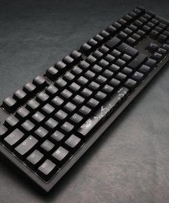 Ducky Shine 7 BlackOut RGB Mechanical Keyboard Silent Red Cherry MX Switch