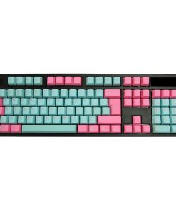 Tai-Hao PBT Double Shot Keycap Set Miami US ANSI+ISO