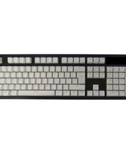 Tai-Hao ABS Backlit Double Shot Keycap Set White Rose US+UK