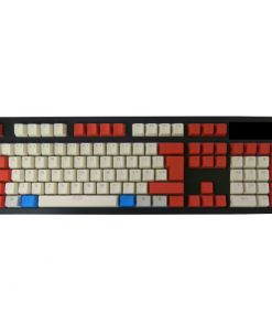 Tai-Hao ABS Backlit Double Shot Keycap Set Red/White