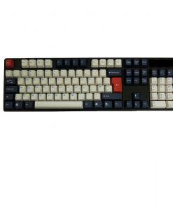 Tai-Hao ABS DoubleShot Keycaps Navy Blue UK+US Layout