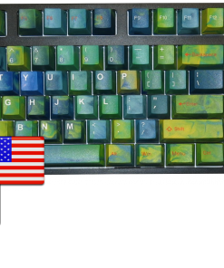 Tai-Hao ABS Double Shot Keycaps Avatar USA with Modifier Kit