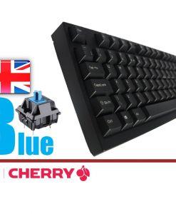 Leopold FC980M Black PD Double Shot PBT Mechanical Keyboard MX Blue