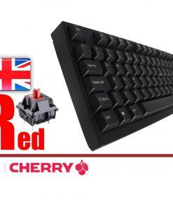Leopold FC980M Black PD Double Shot PBT Mechanical Keyboard MX Red