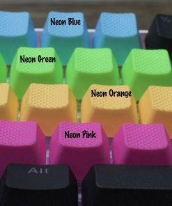 Tai-Hao TPR Rubber Backlit Double Shot Blank Keys