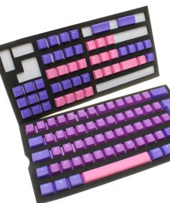Ducky Ultra Violet PBT Double-Shot Keycaps Backlit – UK Layout
