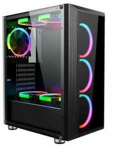 AvP Arion Mid Tower Gaming Case RGB Tempered Glass