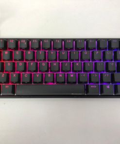 Ducky One 2 Mecha Mini RGB LED 60% Double Shot PBT Mechanical Keyboard (UK Layout)