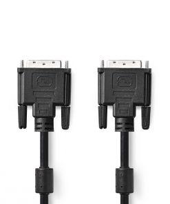 Cables DVI-D 24+1 Male - Male 2M