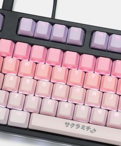 Tai-Hao Sakura Michi PBT Backlit Keycaps 140 keys