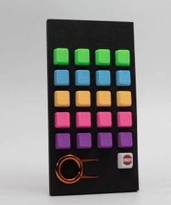 Tai-Hao Rubber Blank Keycap Set 20 Key