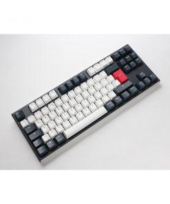 Ducky One 2 Tuxedo TKL Double Shot PBT Cherry MX Mechanical Keyboard