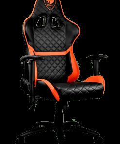 Cougar Armor One Gaming Chair Black & Orange