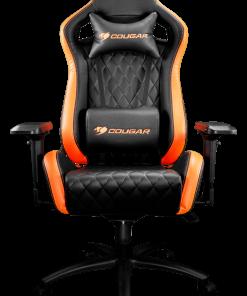 Cougar Armor S Gaming Chair Black & Orange