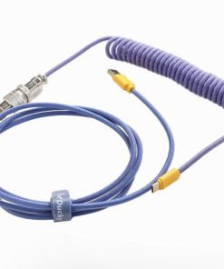 Ducky Premicord Coiled Keyboard Cable - Horizon