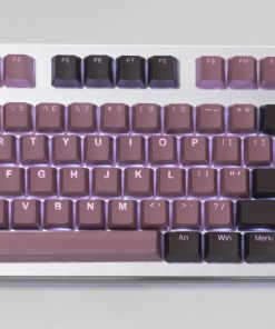 Key Caps Tai-Hao PBT Double Shot 140 Set Lavender / Chocolate